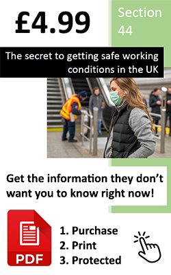Section 44 - The Secret To Getting A Safe Work Environment